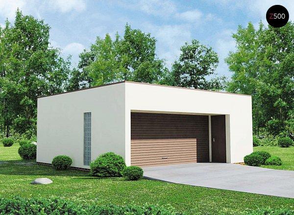 Проект гаража Zg16