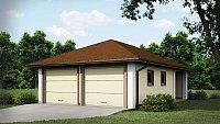 Проект красивого гаража Zg19