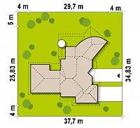 Минимальные размеры участка для проекта Zr1