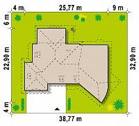 Минимальные размеры участка для проекта Zr5