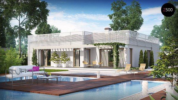 Проект дома Zx100 v1