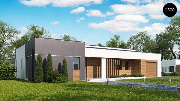 Проект дома Zx102 GP