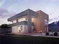 Проект дома Zx108 Фото 2