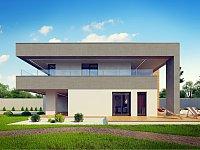 Проект дома Zx108 Фото 4