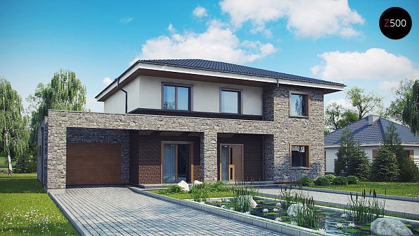 Проект дома Zx109