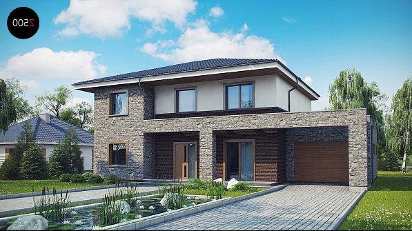 проекты обычных двухэтажных домов