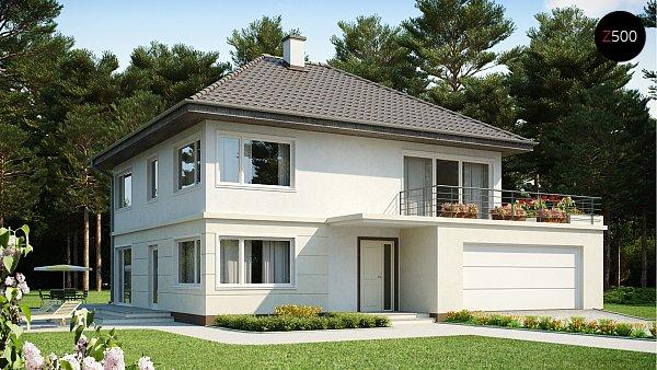 Проект дома Zx10