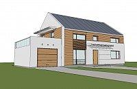 Проект дома Zx11 GL Фото 2
