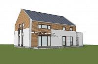 Проект дома Zx11 GL Фото 3