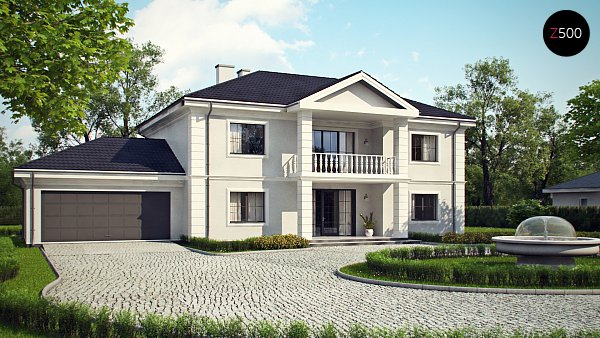 Проект дома Zx113