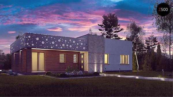 Проект дома Zx115