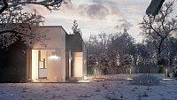 Проект дома Zx116 Фото 1
