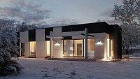 Проект дома Zx116 Фото 3