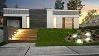 Проект дома Zx119 Фото 3
