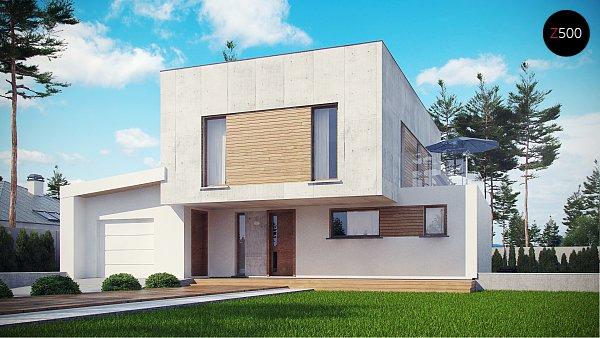 Проект дома Zx121