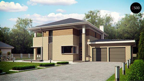 Проект дома Zx122