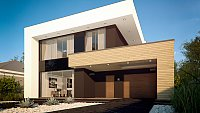 Проект дома Zx123 Фото 4
