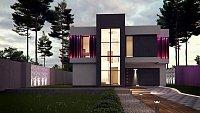 Проект дома Zx124 Фото 1