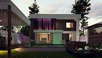 Проект дома Zx124 Фото 8