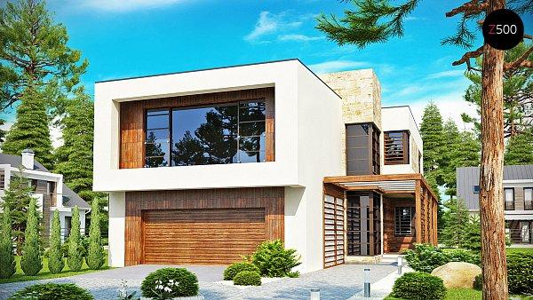 Проект дома Zx14