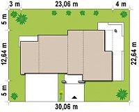 Минимальные размеры участка для проекта Zx15 GL2