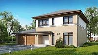 Проект дома Zx24 GL2