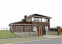 Проект дома Zx24 GL2 Фото 2