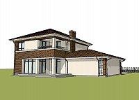 Проект дома Zx24 GL2 Фото 3