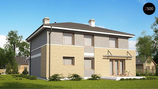 Проект дома Zx29 k