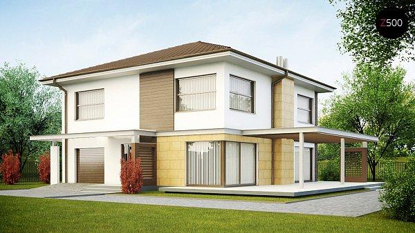 Проект дома Zx2