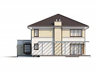 Фасады проекта Zx33 Фото 4