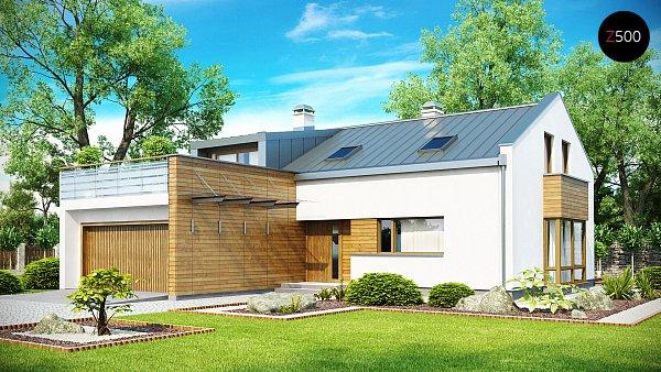 Проект дома Zx36