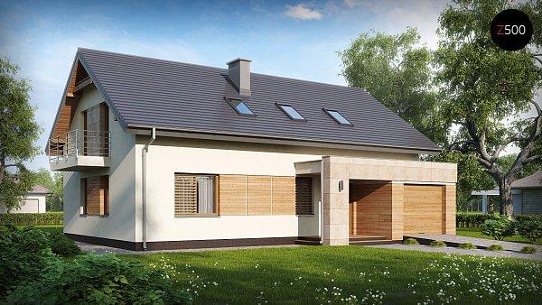 Проект дома Zx38 v1