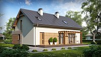 Проект дома Zx38 v1 Фото 1