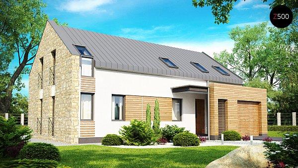 Проект дома Zx38