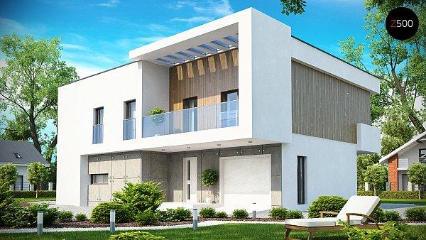 Проект дома Zx39