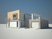 Проект дома Zx3 Фото 2