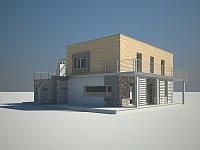Проект дома Zx3 Фото 3