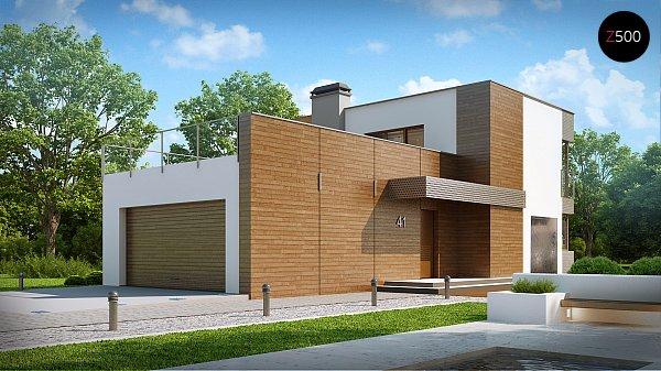 Проект дома Zx41