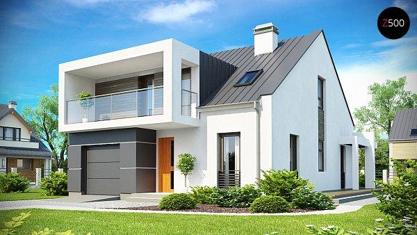 Проект дома Zx44