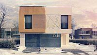 Проект дома Zx45