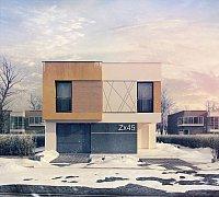 Проект дома Zx45 Фото 1