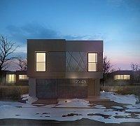 Проект дома Zx45 Фото 7