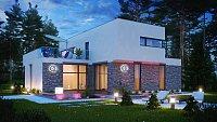 Проект дома Zx46 Фото 2