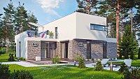 Проект дома Zx46 Фото 4