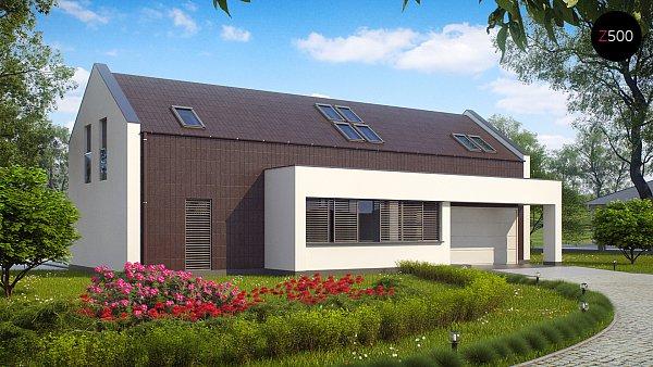 Проект дома Zx48