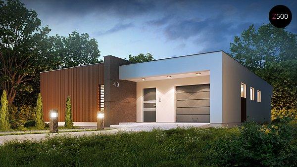 Проект дома Zx49
