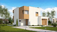 Проект дома Zx51 GP