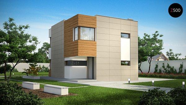 Проект дома Zx51