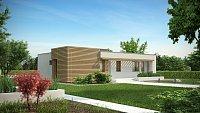 Проект дачного дома Zx53